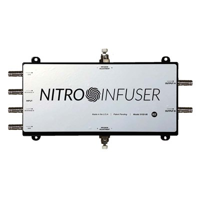 Nitro Infuser Dual Tap v3 - On-Demand Nitrogenation with NitroNow /