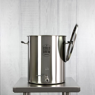 Commercial Cold Brew Coffee Maker (15 Gallon / 50 micron)