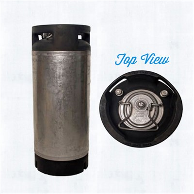 5 Gallon Nitro Coffee Keg (Used Converted Pin Lock Keg) /
