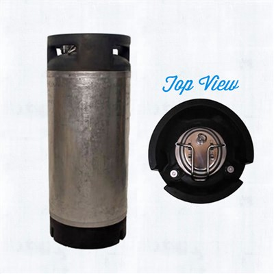 5 Gallon Nitro Coffee Keg (Used Converted Pin Lock Keg - New Lid)