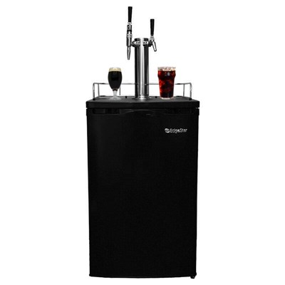 Cold Brew Coffee Kegerator - Dual Tap for Iced and Nitro Coffee