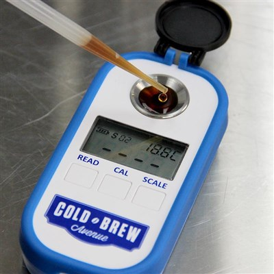 Cold Brew Coffee Refractometer & TDS Meter /
