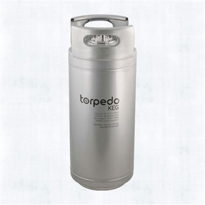 5 Gallon Nitro Coffee Keg (Stackable Torpedo Kegs)