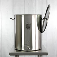 Commercial Cold Brew Coffee Maker (30 Gallon / 50 micron)